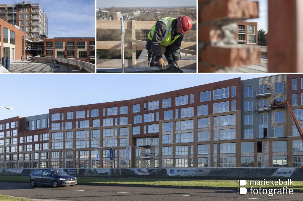 Nieuwbouw Erasmushiem - februari 2014