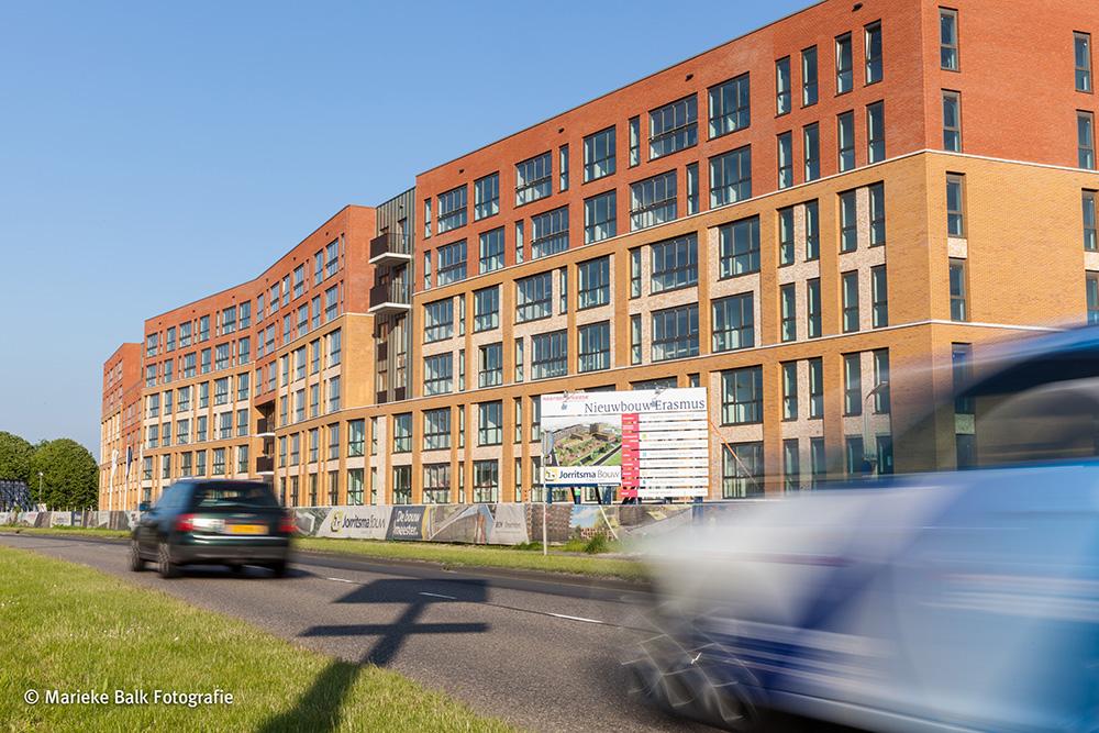 nieuwbouw Erasmushiem juli 2014