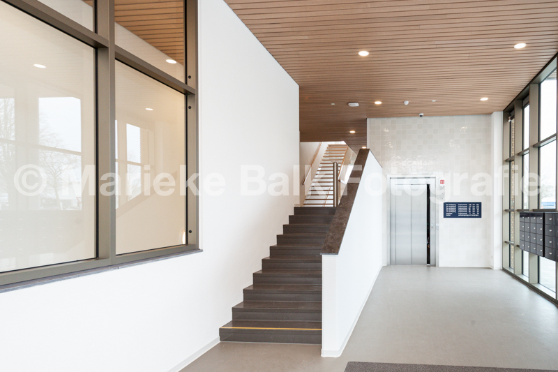 bouwfotografie, nieuwbouw zorgcentrum Erasmus
